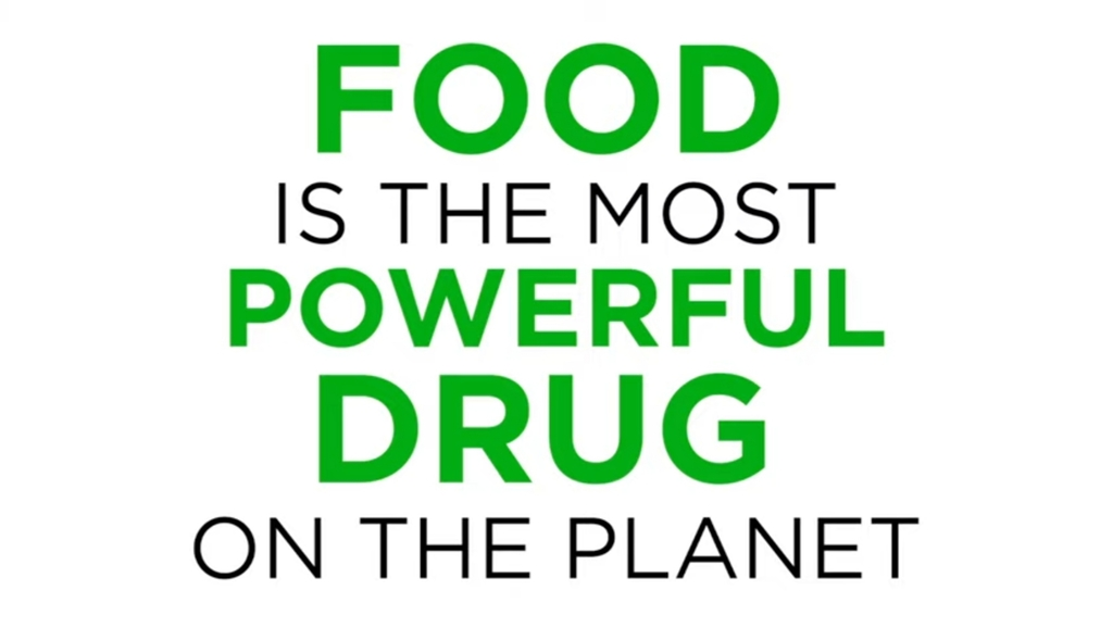 Food the most powerful drug on the planet
