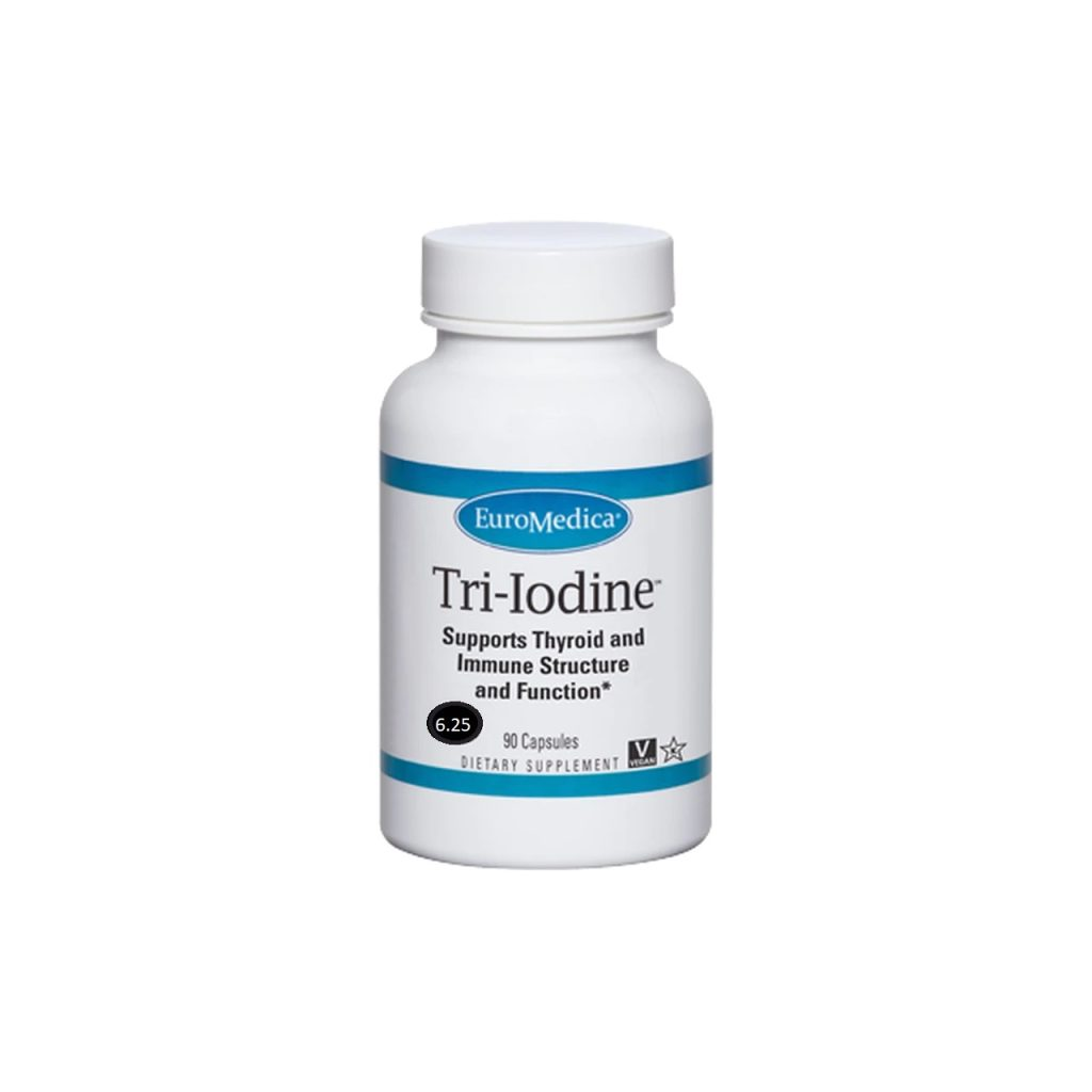 The Supplement Tri-Iodine provides the 3 beneficial forms of iodine you need most